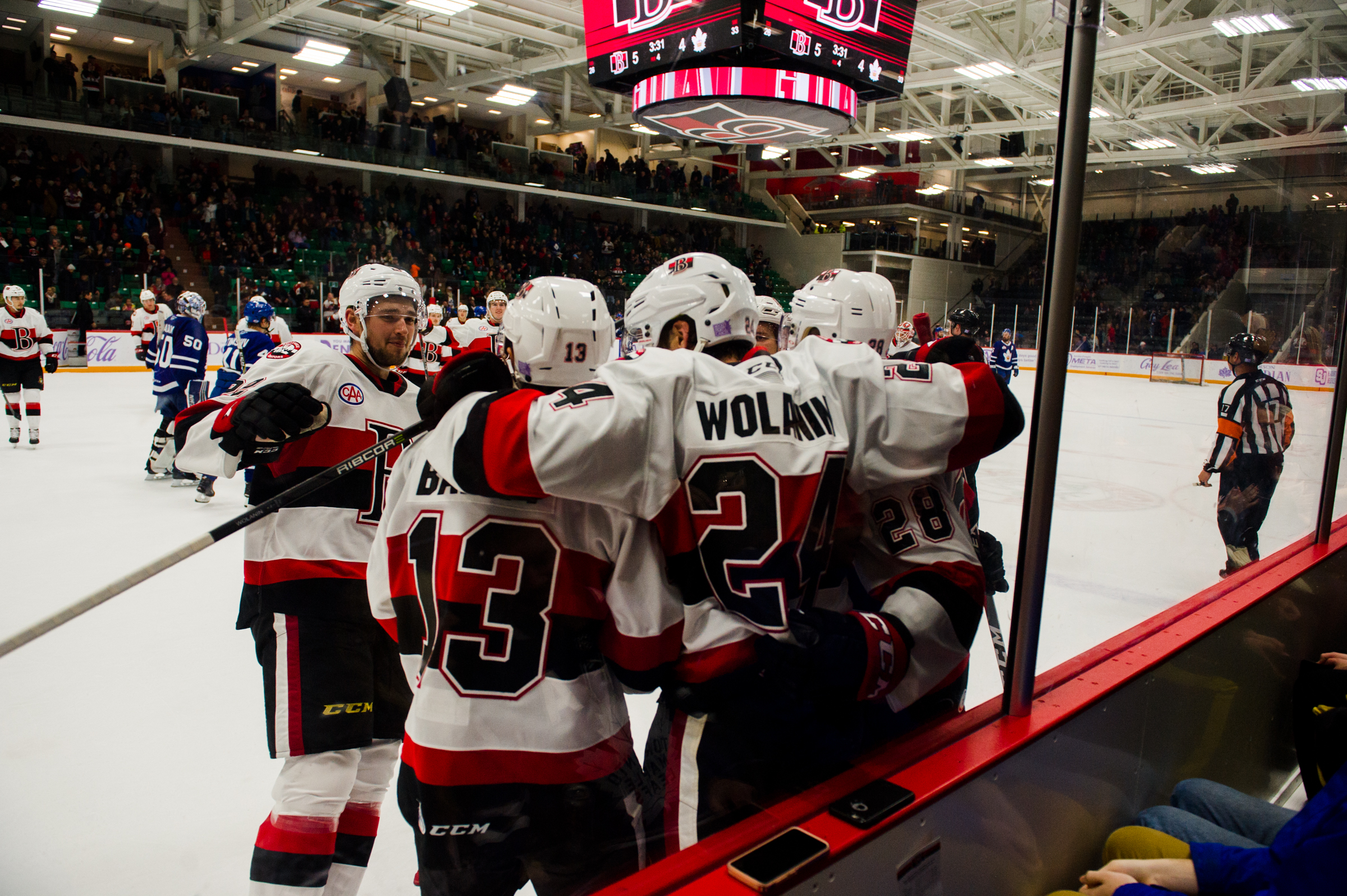 B-Sens win round three of Battle of Ontario in overtime