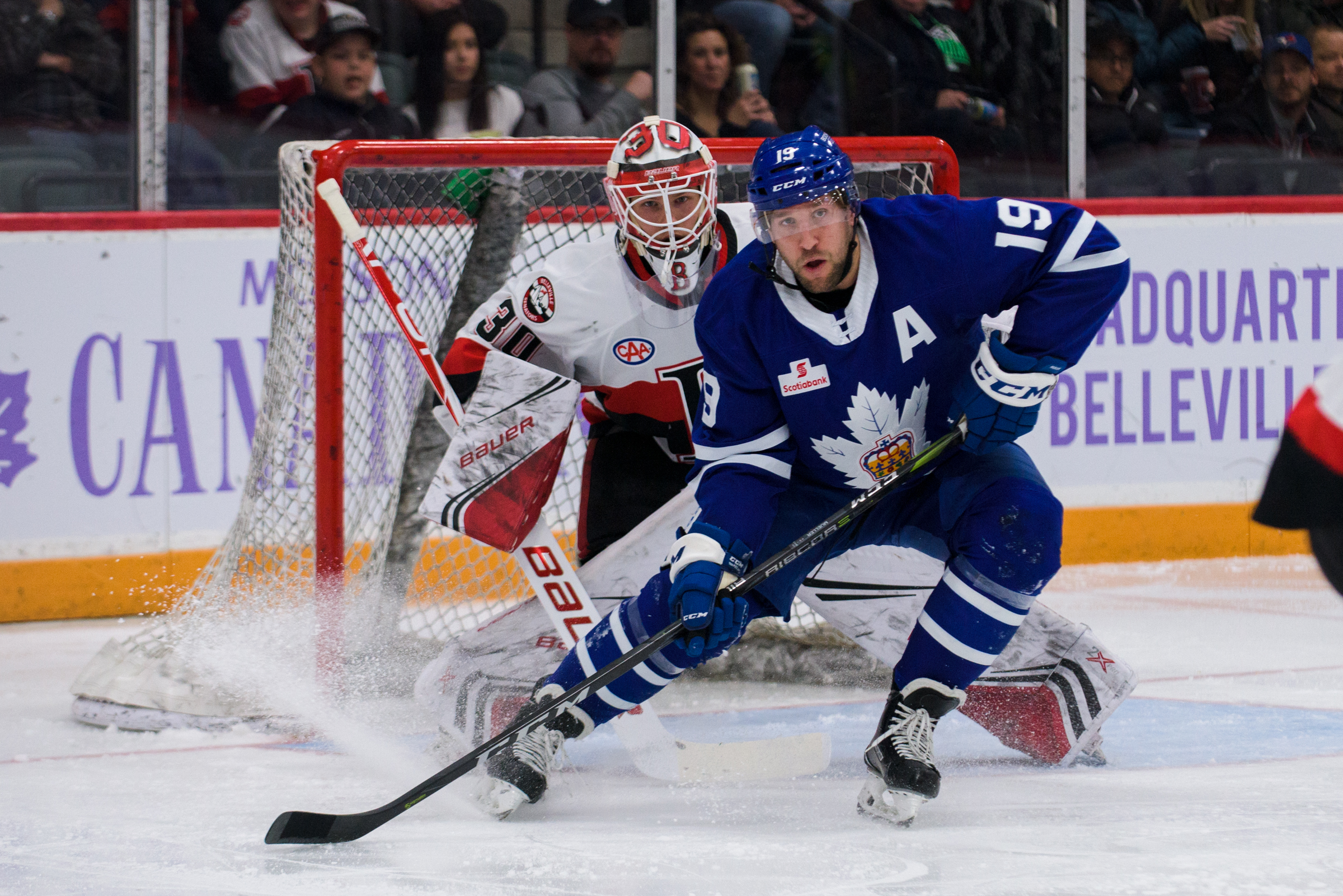 Marlies outmuscle Senators to win second game of back-to-back
