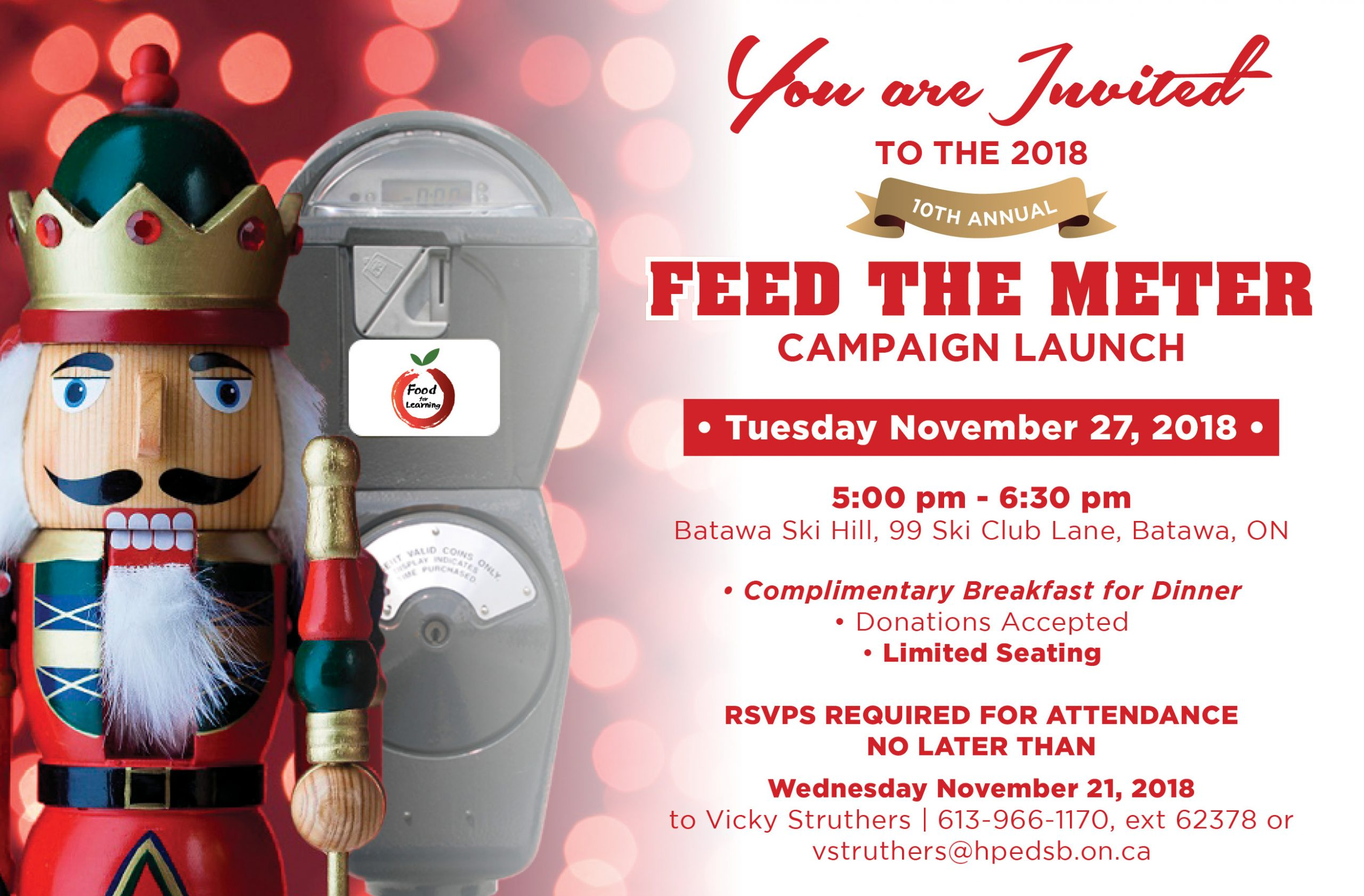 Feed the Meter campaign launching in December