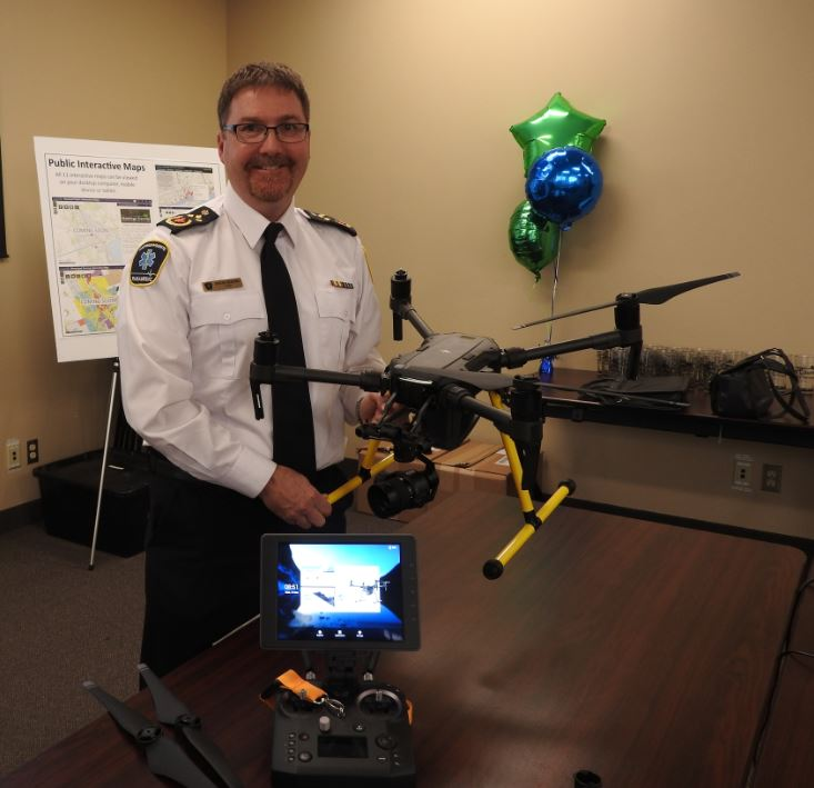 Paramedics' drone now operational