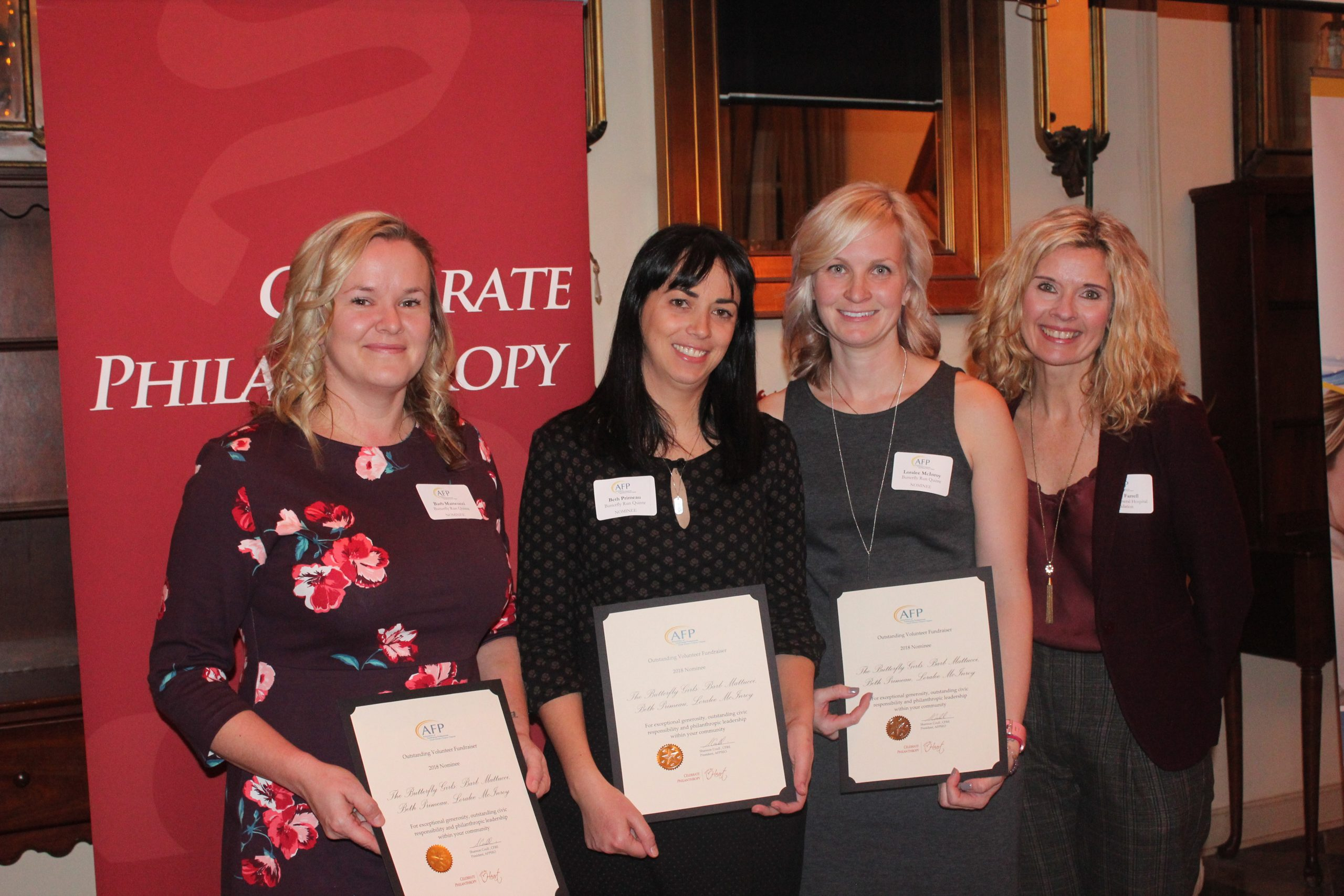 Butterfly Girls receive National Philanthropy Day award