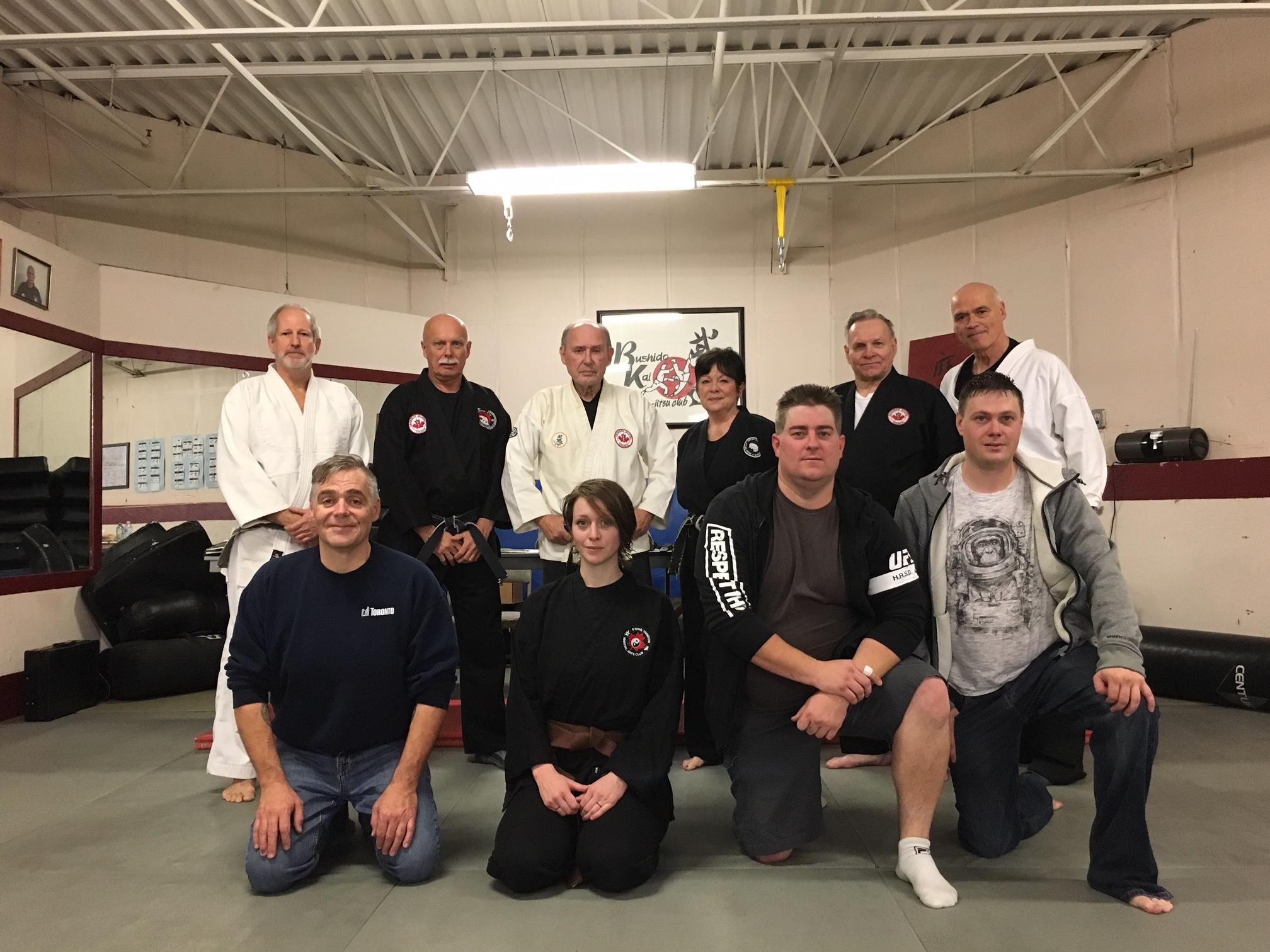 4 new Black Belts in Quinte
