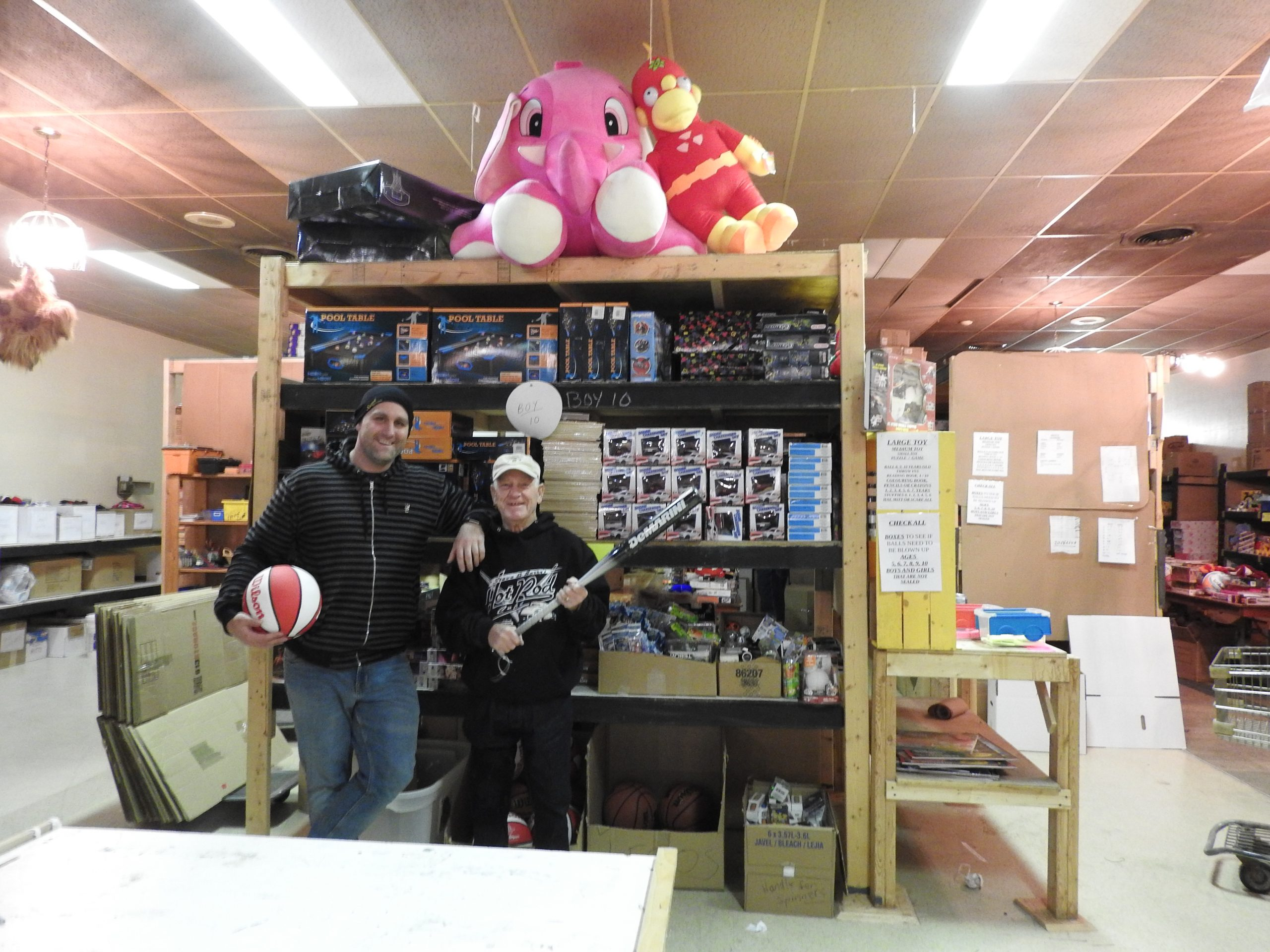 Firefighters' Toy Drive events coming up
