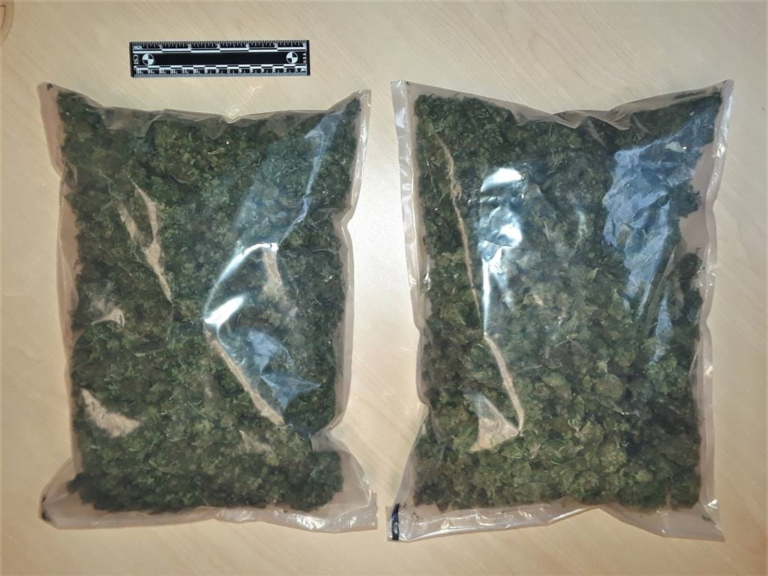 Pot seized, impaired by drug charges laid