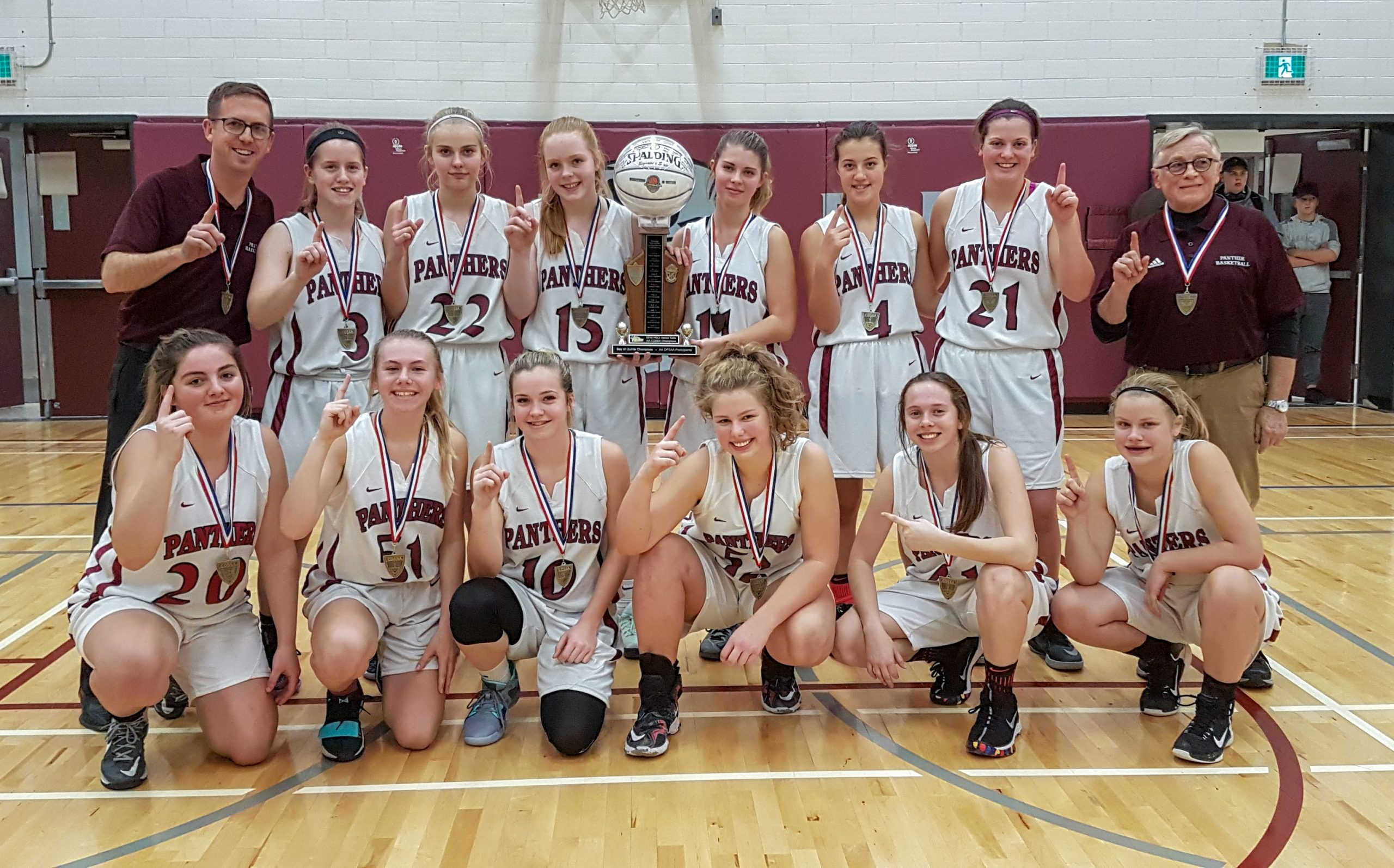 Panthers and Chargers win COSSA