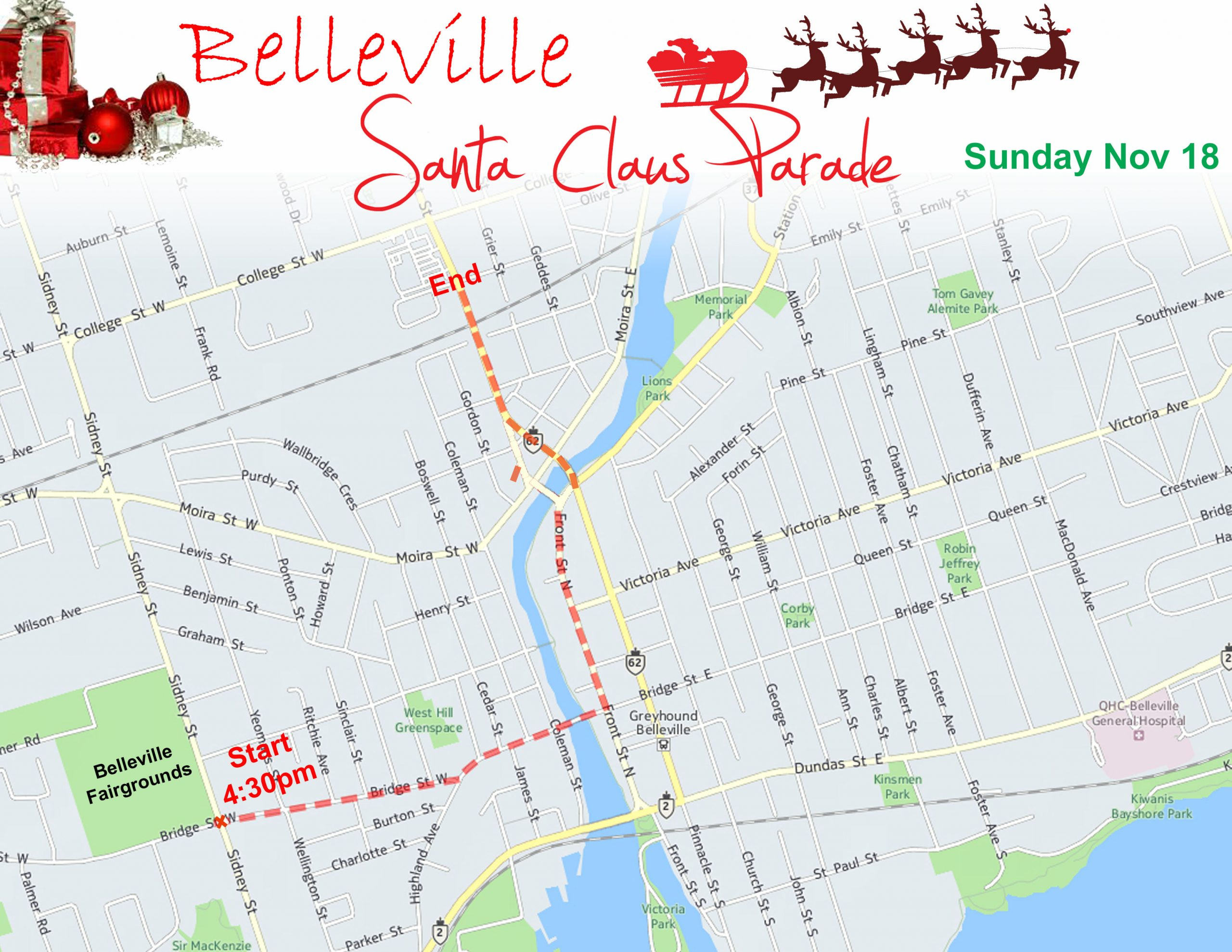 New safety rules for Belleville's Santa Parade