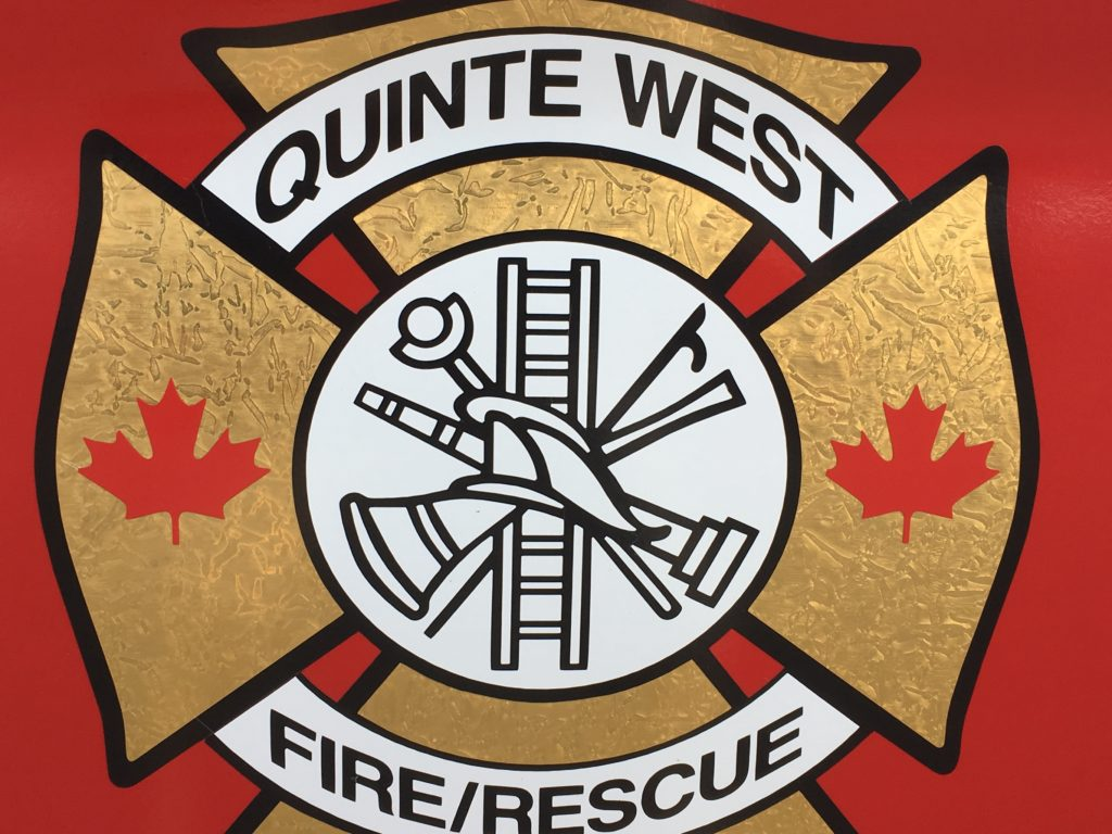 Chimney fire in Quinte West