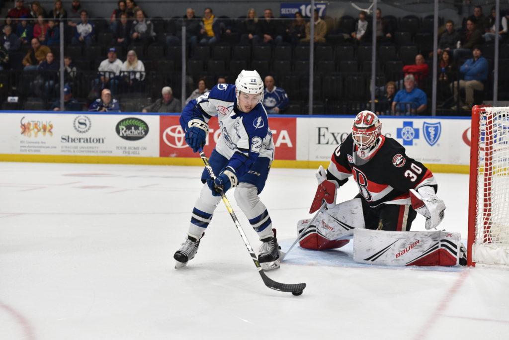 Four goal second period puts game out of Senators' reach