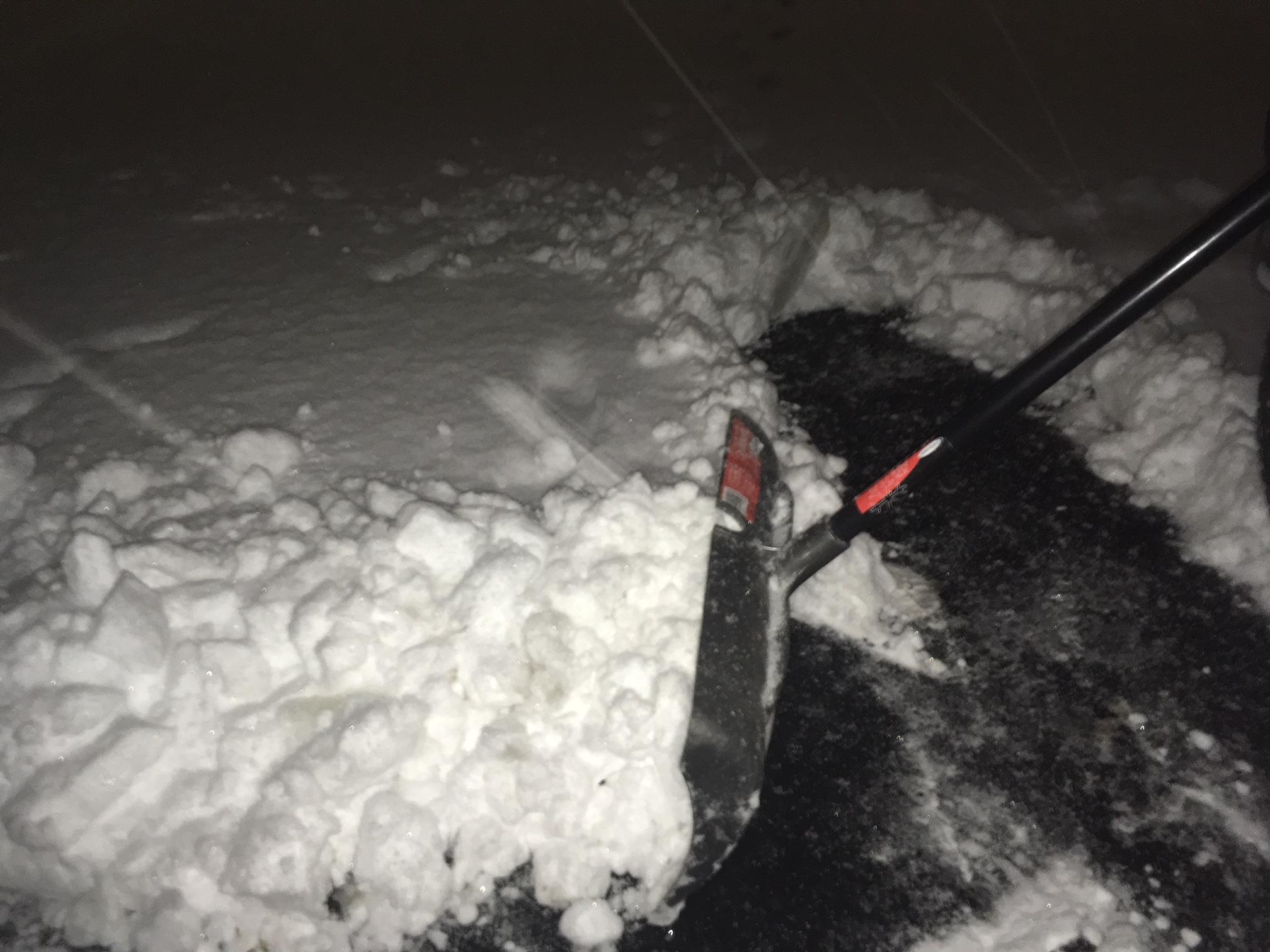 A record snowfall