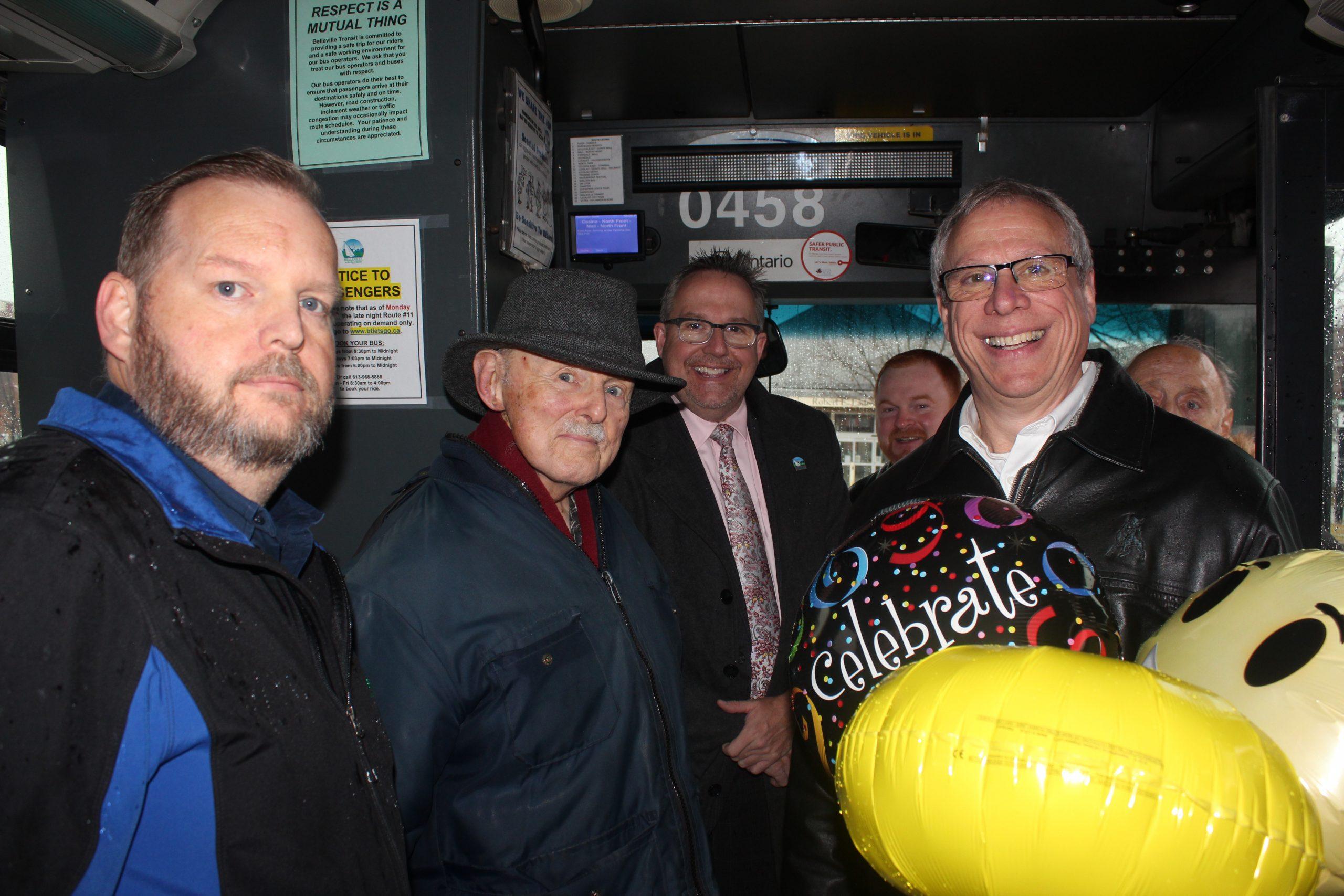 Belleville Transit welcomes one millionth rider
