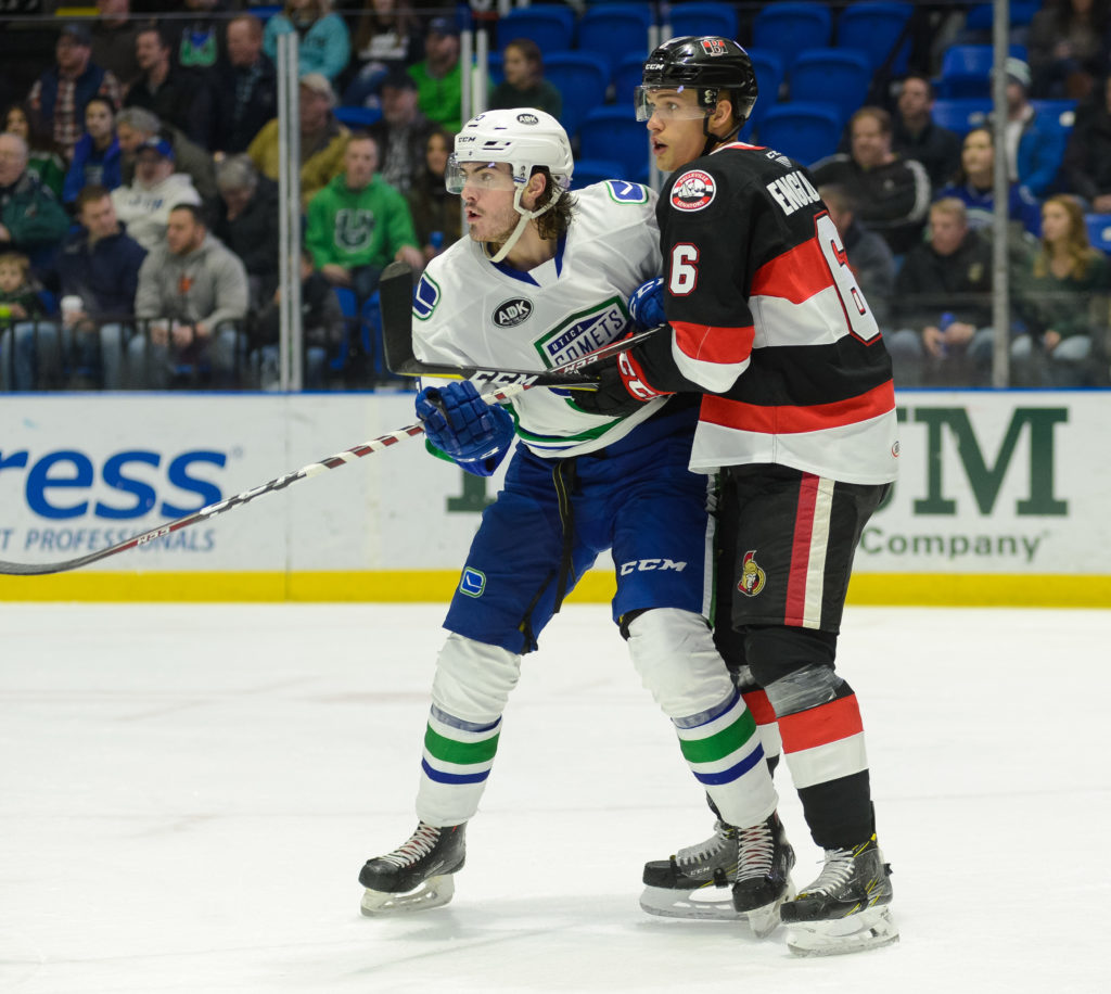 Sens settle for 3 of 6 points on road trip