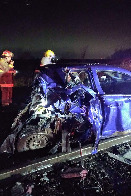 Train hits car in Quinte West