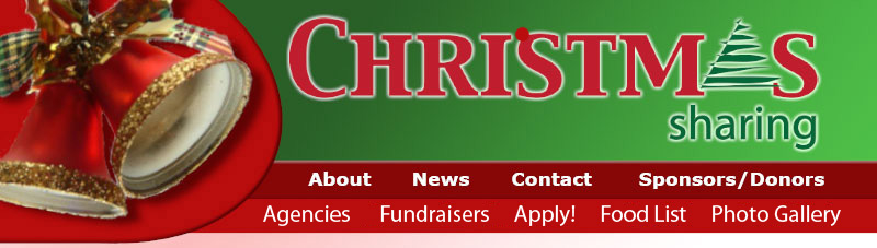 Deadline to register for Christmas Sharing coming fast