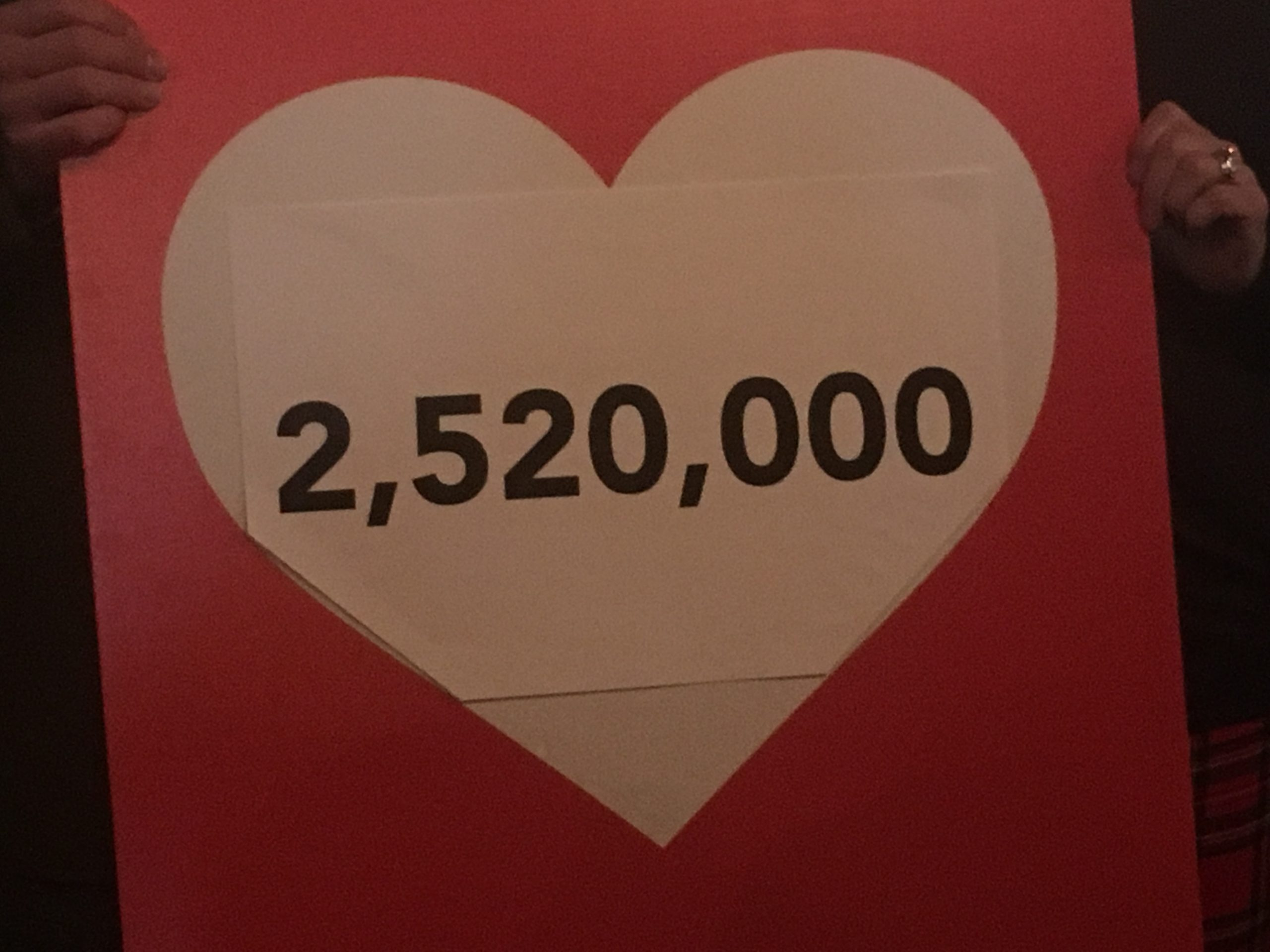 8 - Wing donations pass major milestone to the United Way HPE