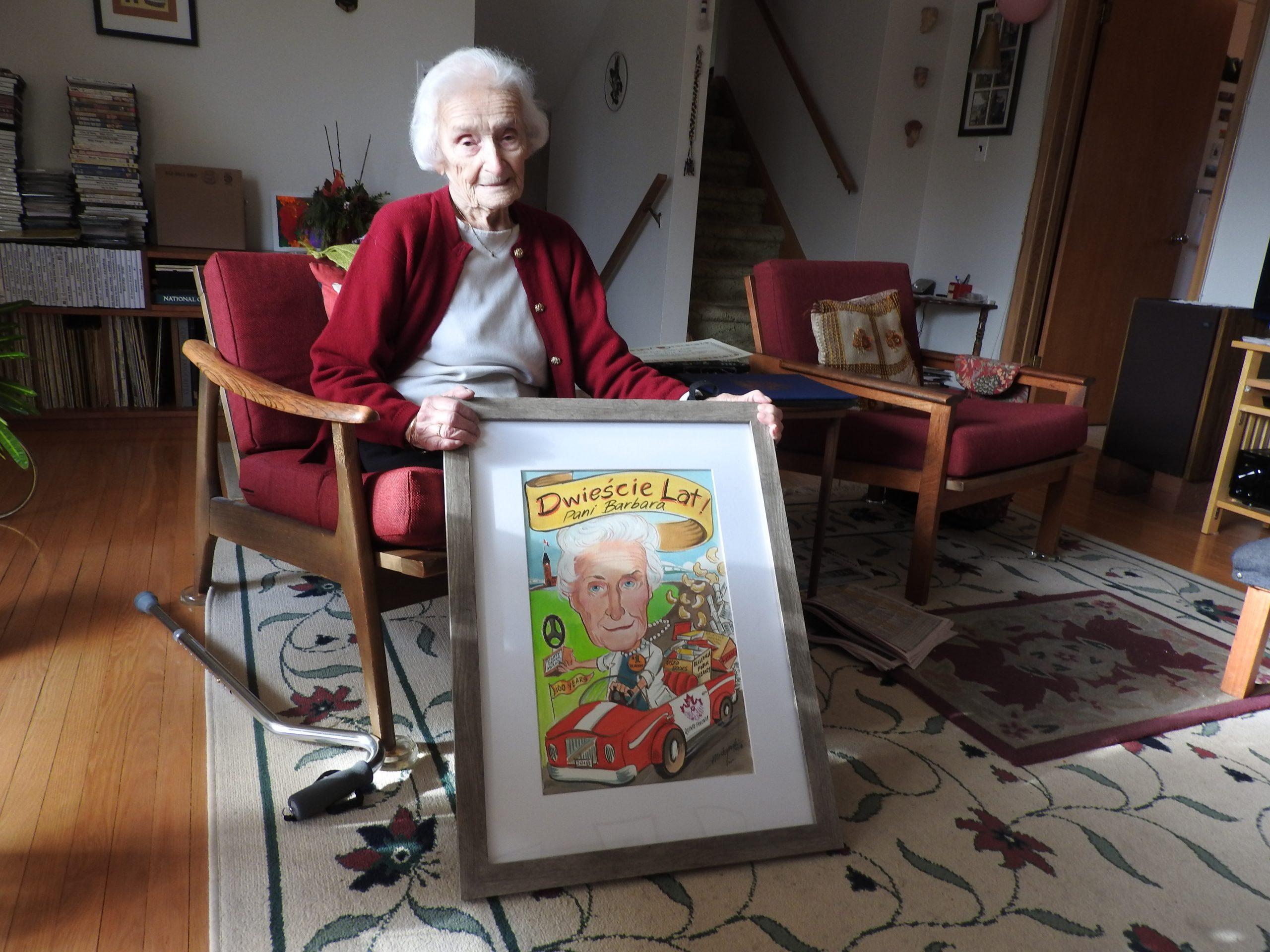 Belleville honours 100-year-old volunteer