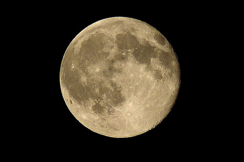 Full cold moon tonight