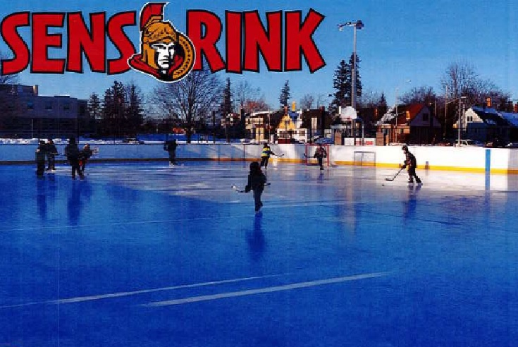 Senators think outdoor rink