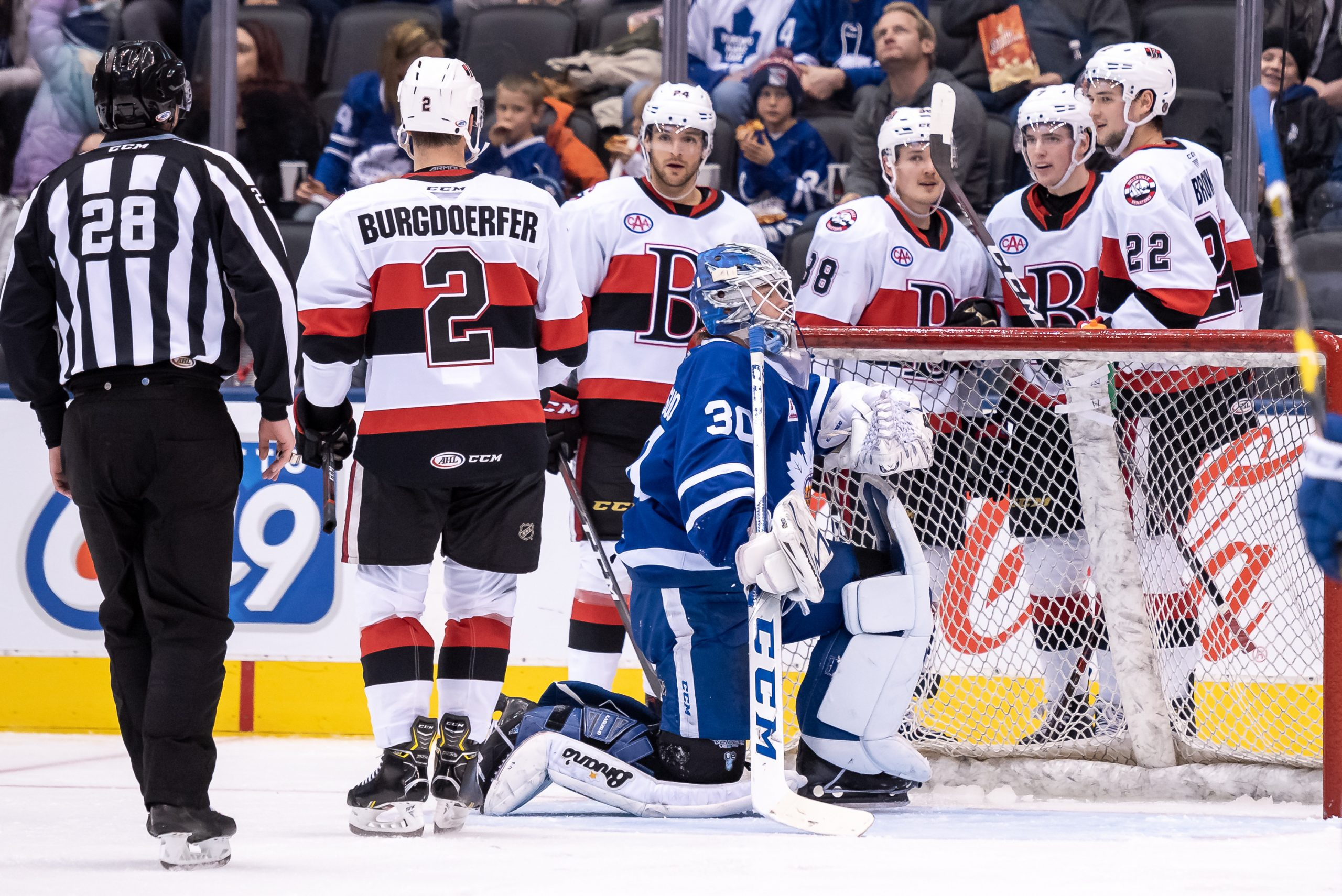B-Sens best Marlies in Boxing Day Classic