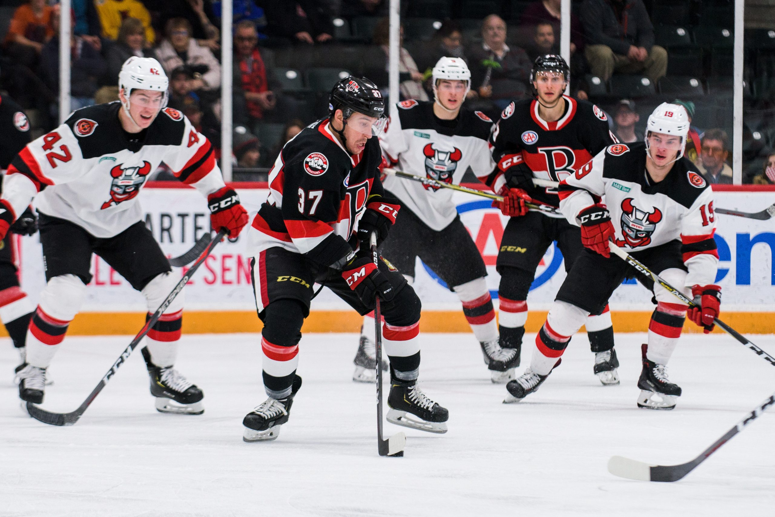 B-Sens streaking into the new year after beating Devils