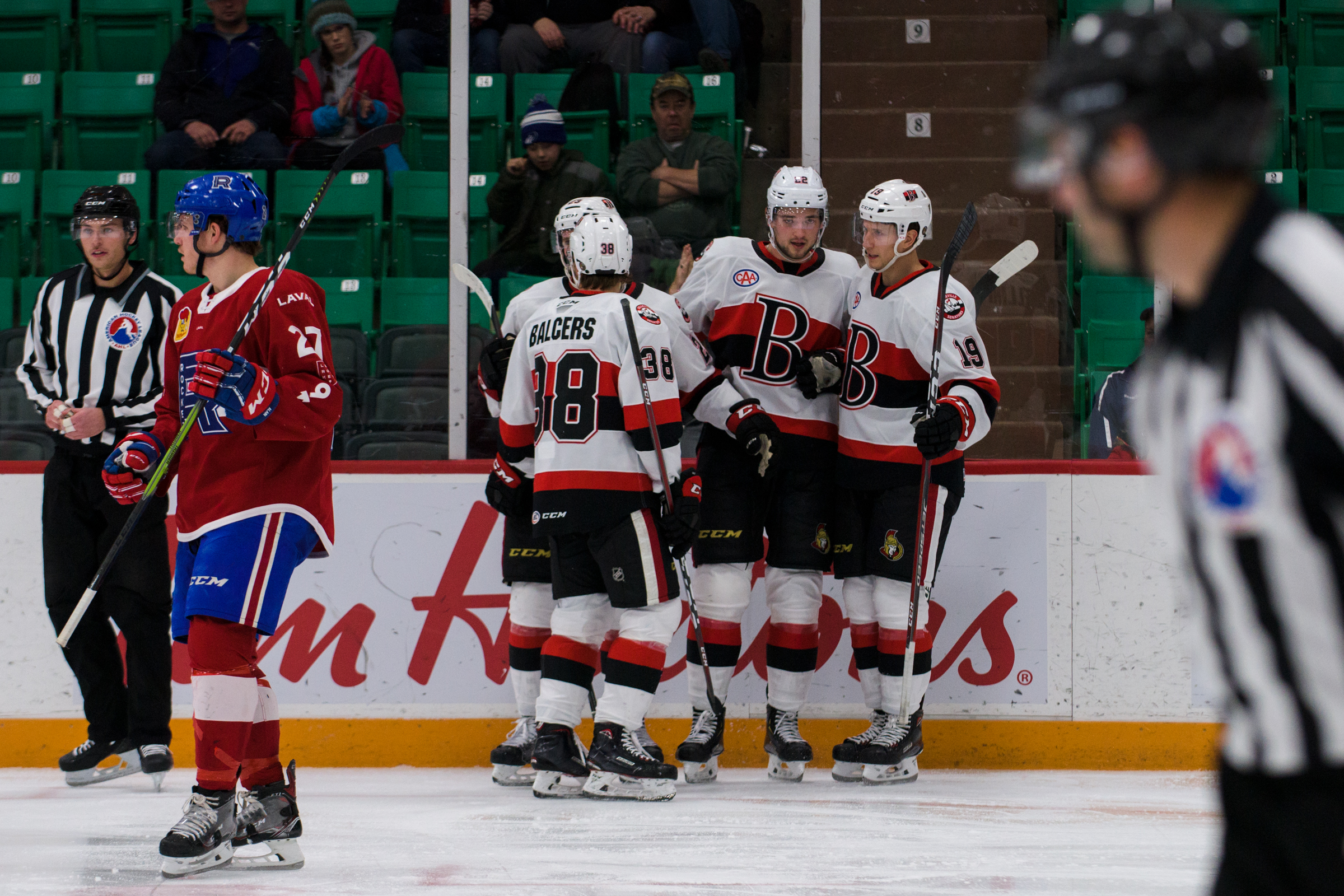 B-Sens fly past Rocket to open three-in-three weekend