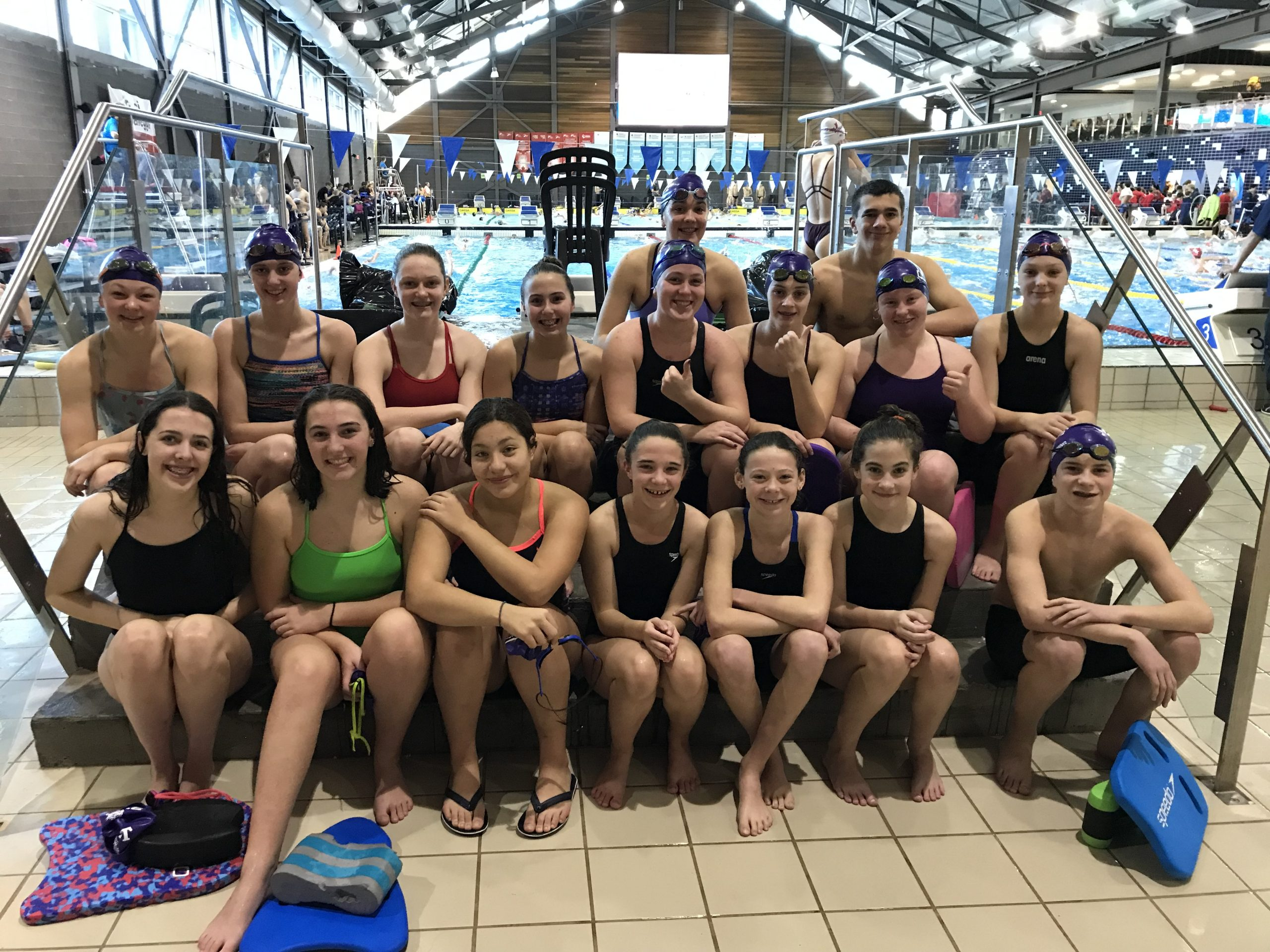 Belleville swimmers compete in Pointe Claire