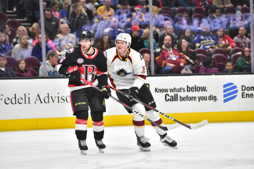Sens lose tough one in Cleveland