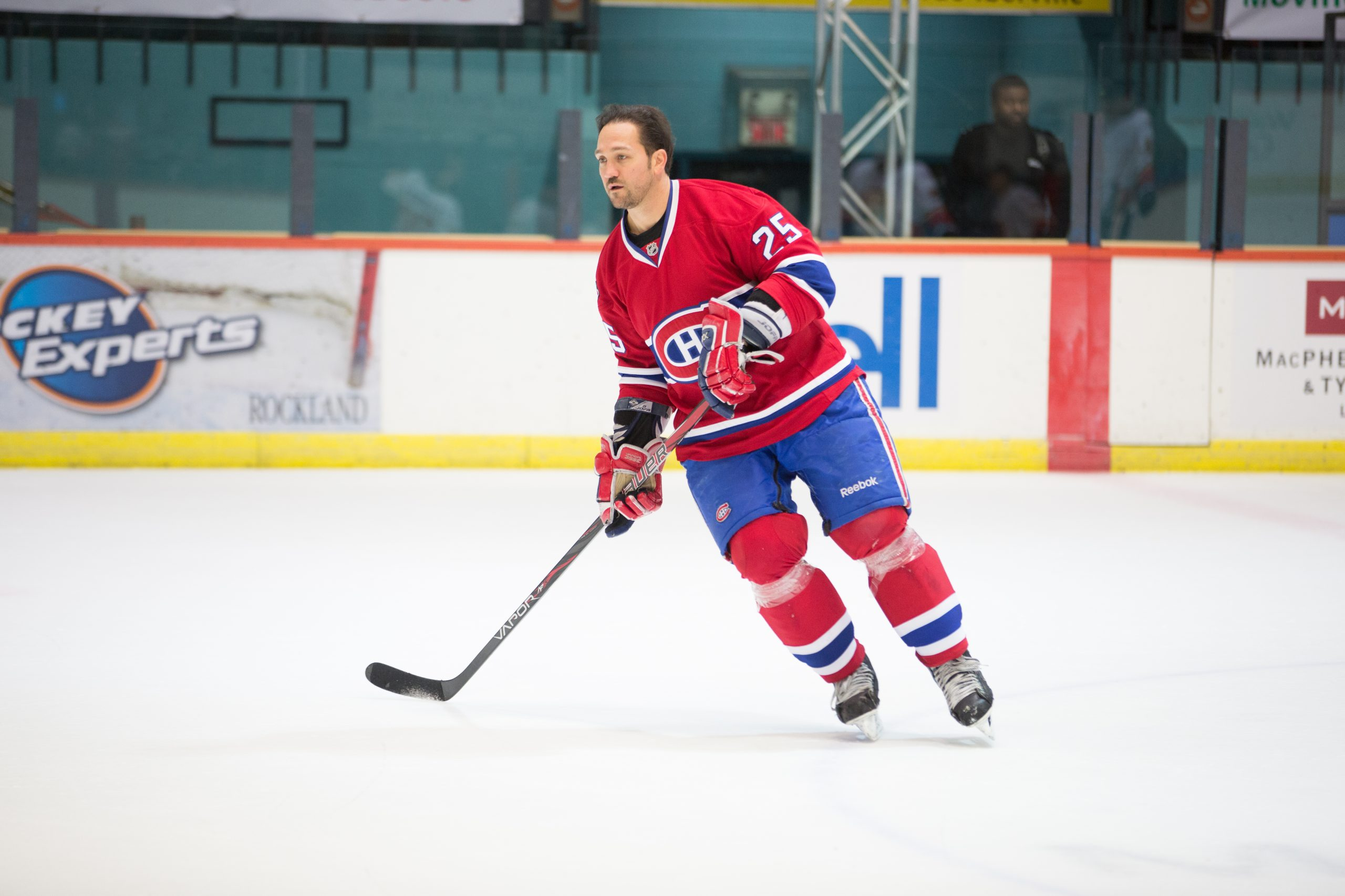 Dandenault primed for Habs/Leafs alumni battle in Belleville