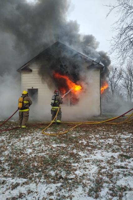 Bellevue Drive fire deemed accidental