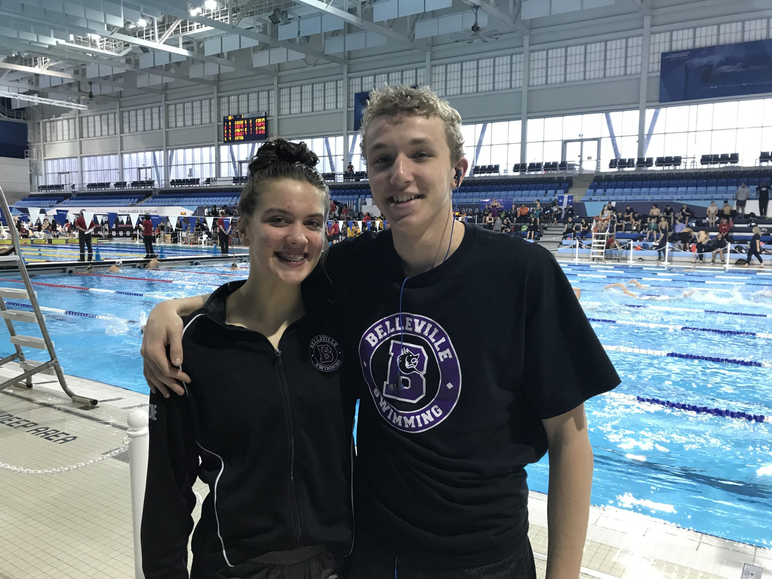 Pan Am Pool personal bests