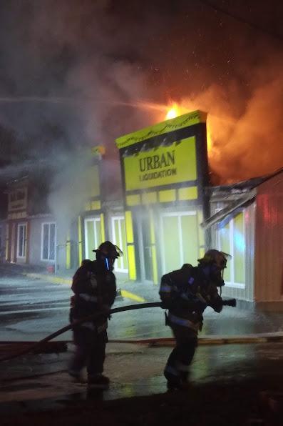 UPDATE: Cause of Trenton plaza fire now suspicious