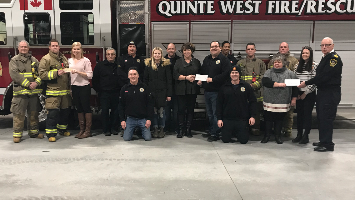 Local charities benefit from QW fundraiser
