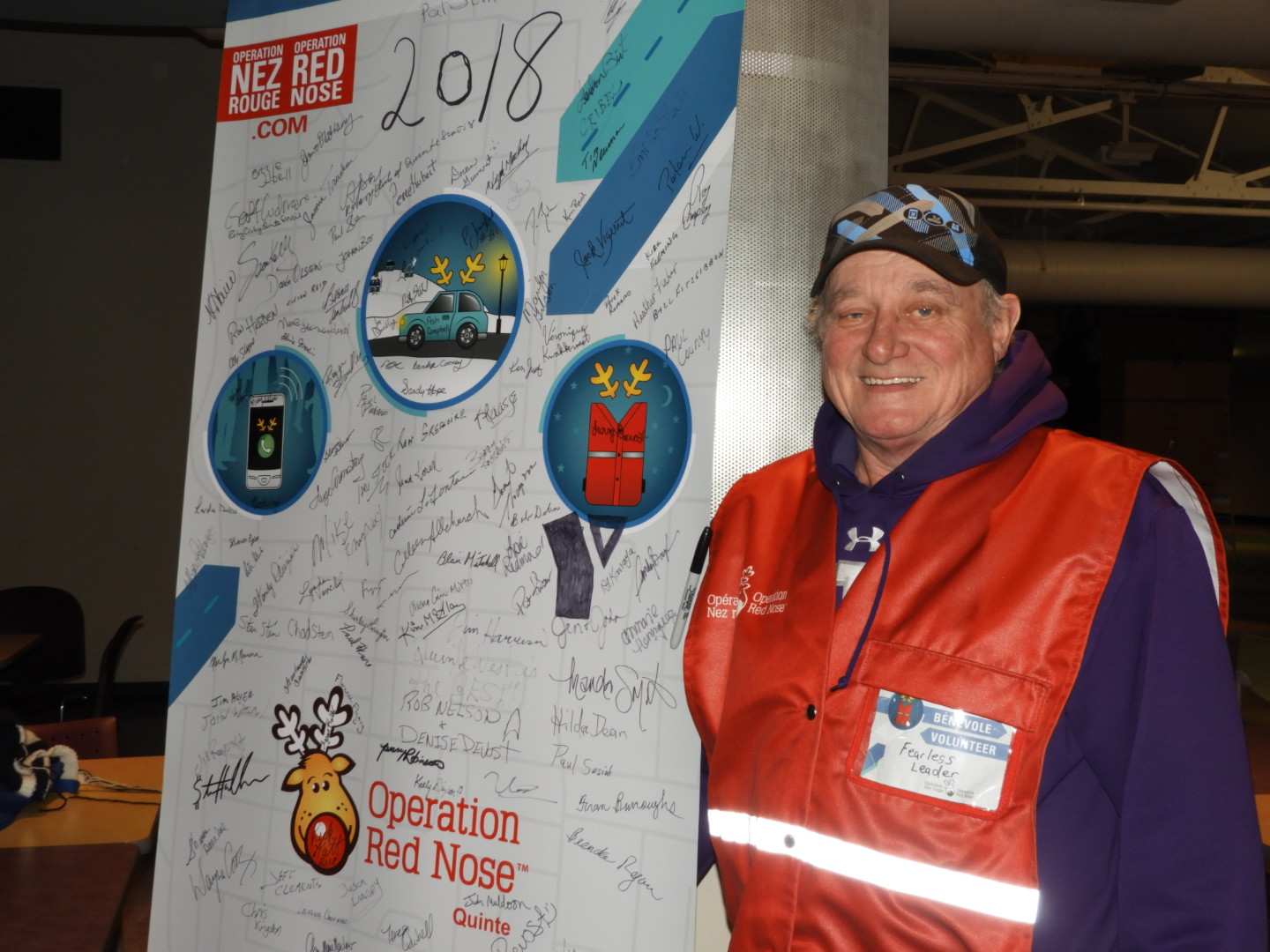 Another successful weekend for Operation Red Nose Quinte