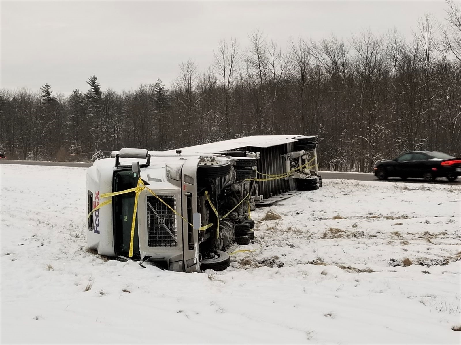 Transport recovery to close 401 lane