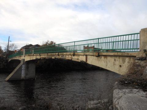 New pedestrian bridge on hold