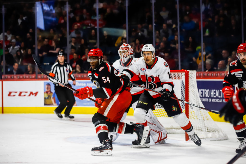 B-Sens drop second game of back-to-back in Grand Rapids