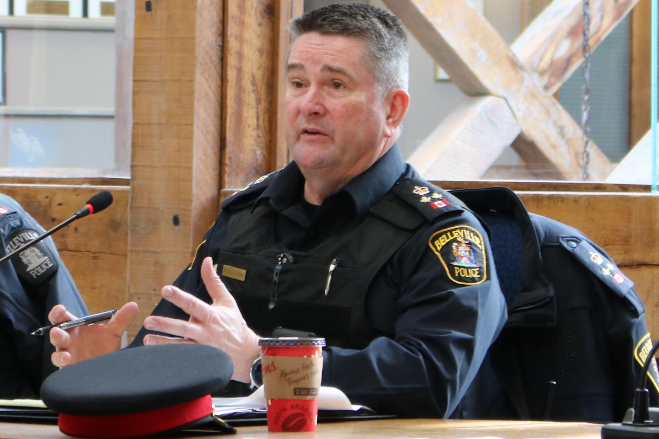 Le chef de la police de Belleville se dit toujours prêt à entendre les inquiétudes des habitants