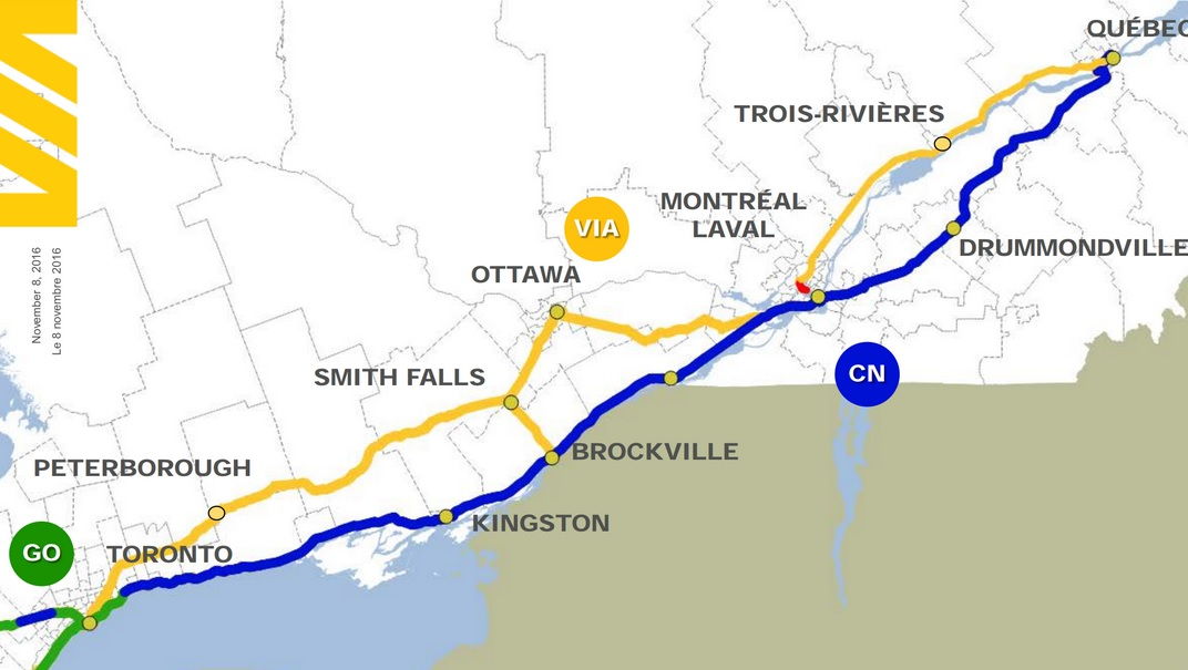 Feds close to announcing decision on new rail line