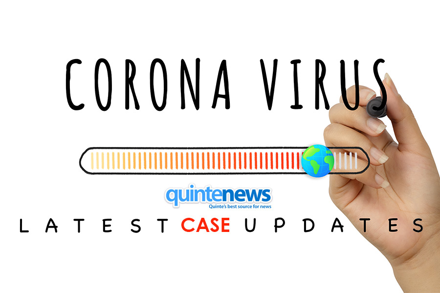 Two more confirmed cases of COVID-19 in Hastings-Prince Edward today