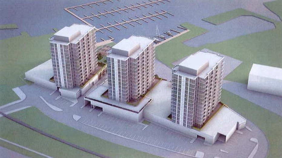 Un grand projet résidentiel, commercial et marina est en attente d'approbation finale