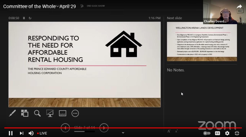 Des solutions à la pénurie de logements abordables de PEC pourraient bientôt venir