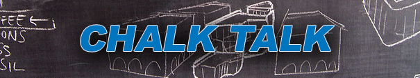 Podcasts – Chalk Talk – April 2015