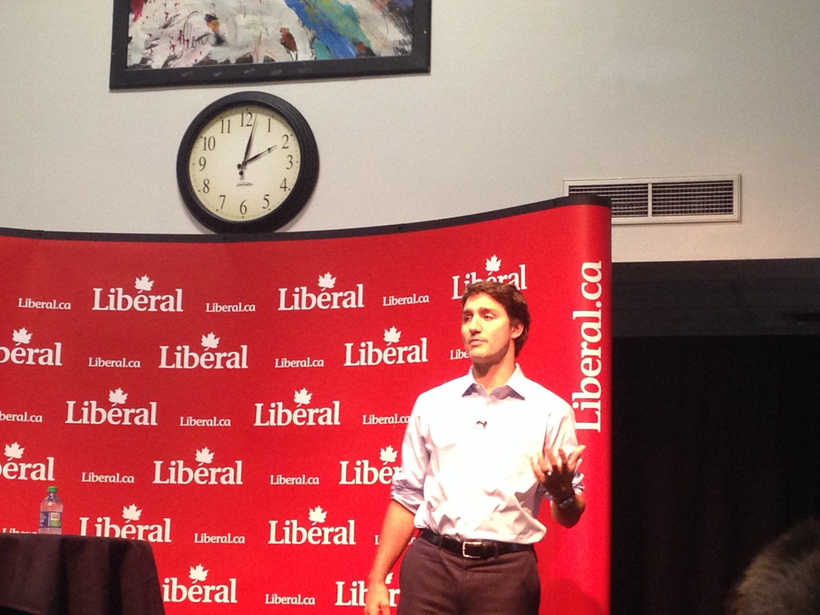 Trudeau speaks to Fanshawe students