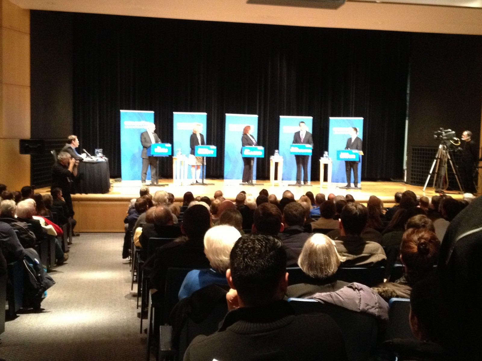 Sparks fly at Ontario PC leader debate