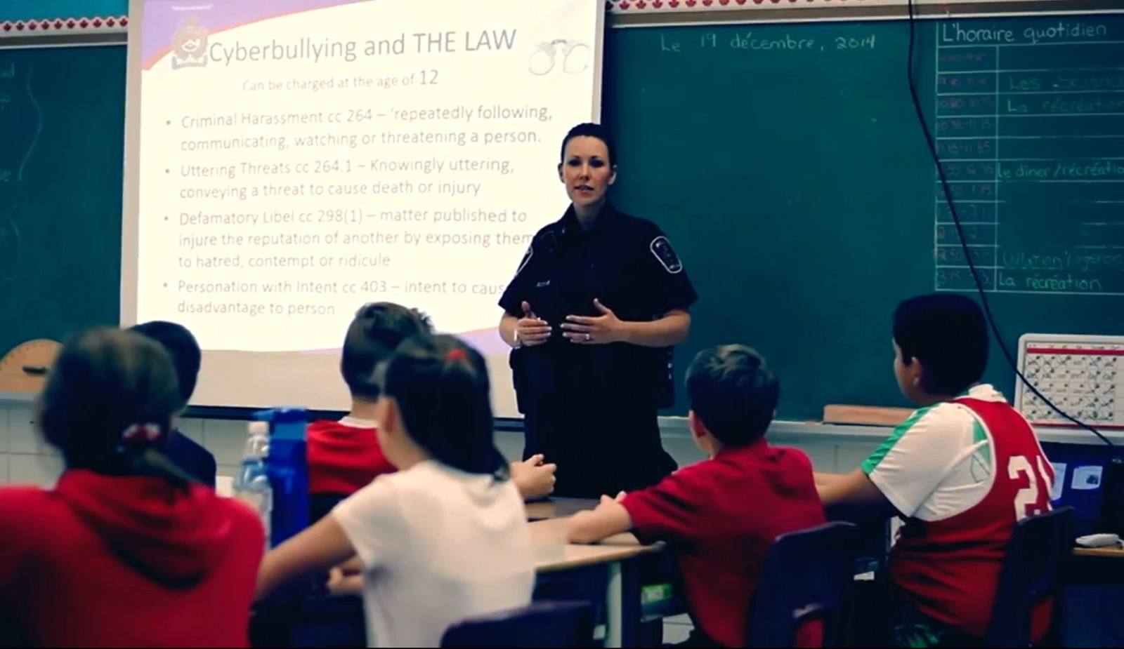 Local officer creates a song for an anti-bullying initiative