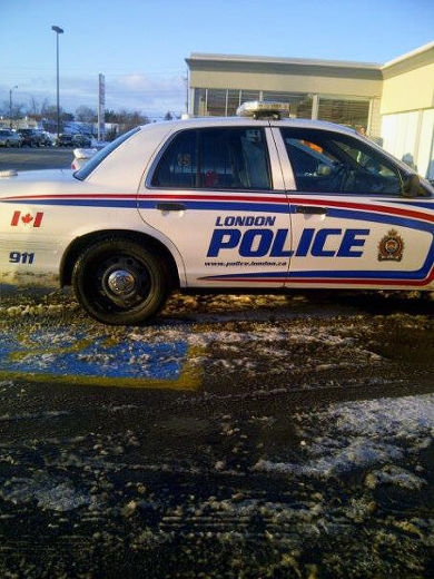 London Police under fire after parking in handicapped spot.