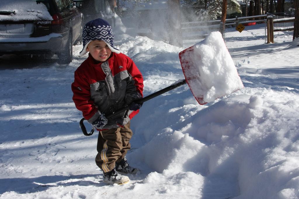 Safe shoveling