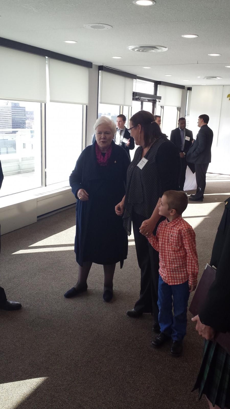 Forest City hosts Lieutenant Governor of Ontario