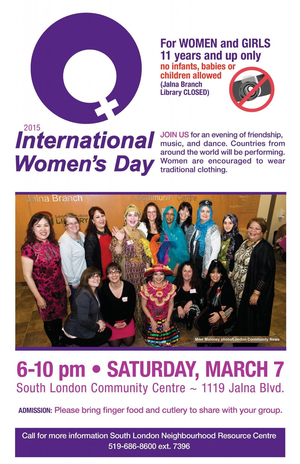 South London Community Centre set to celebrate International Women's Day