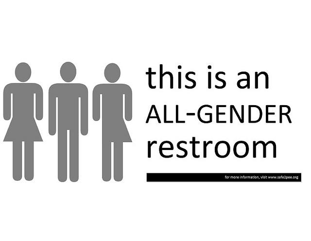 Gender-neutral washrooms