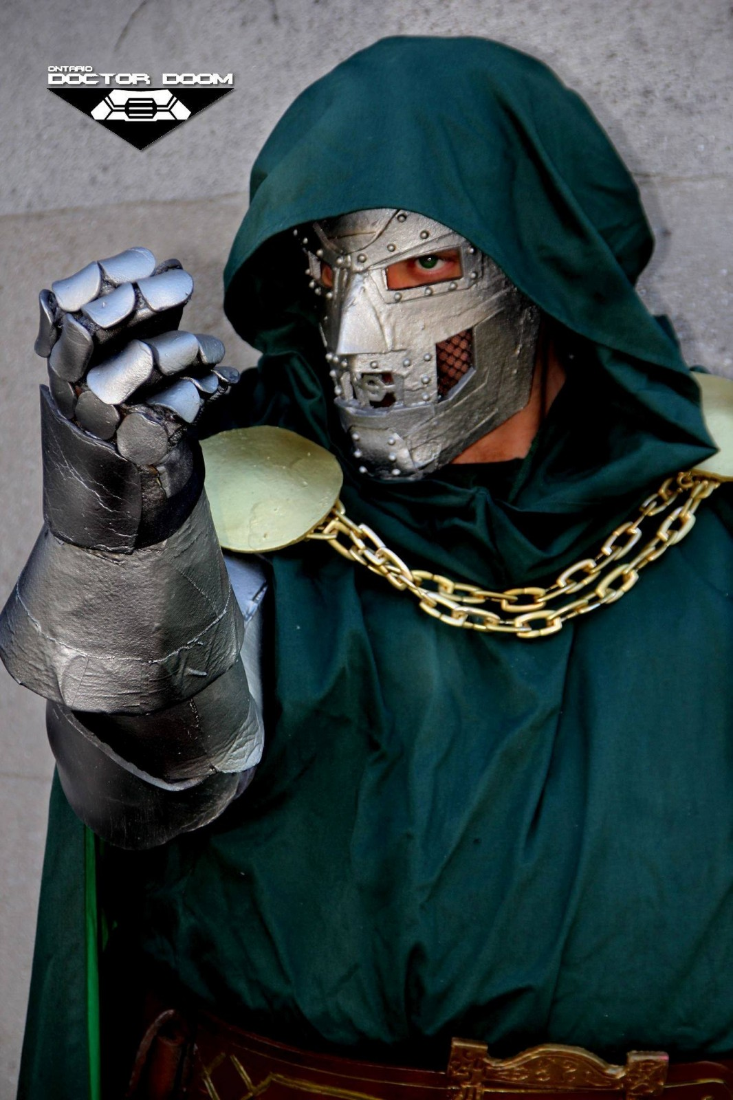 The Ontario Doctor Doom takes on the London Comic Con